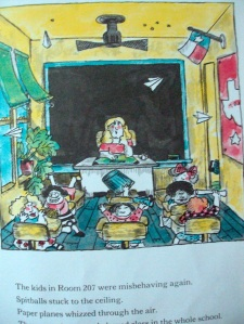 Let's hope your class doesn't look like this!!! http://gatheringbooks.org/2011/05/10/miss-nelson-is-missing/
