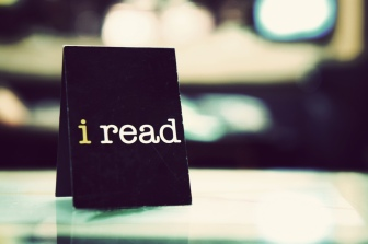 Reading is one of the things I really really love!