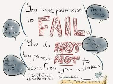 Yes, even you have permission to fail! Just make sure that you learn and grow from those failures! https://www.flickr.com/photos/126588706@N08/14826069893/in/album-72157645530010989/