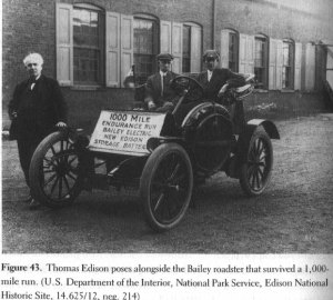 This electric car dates back to the 1890s at a time when electric vehicles outsold combustion engines at a rate of 10 to 1.