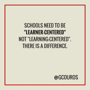 learner-centred