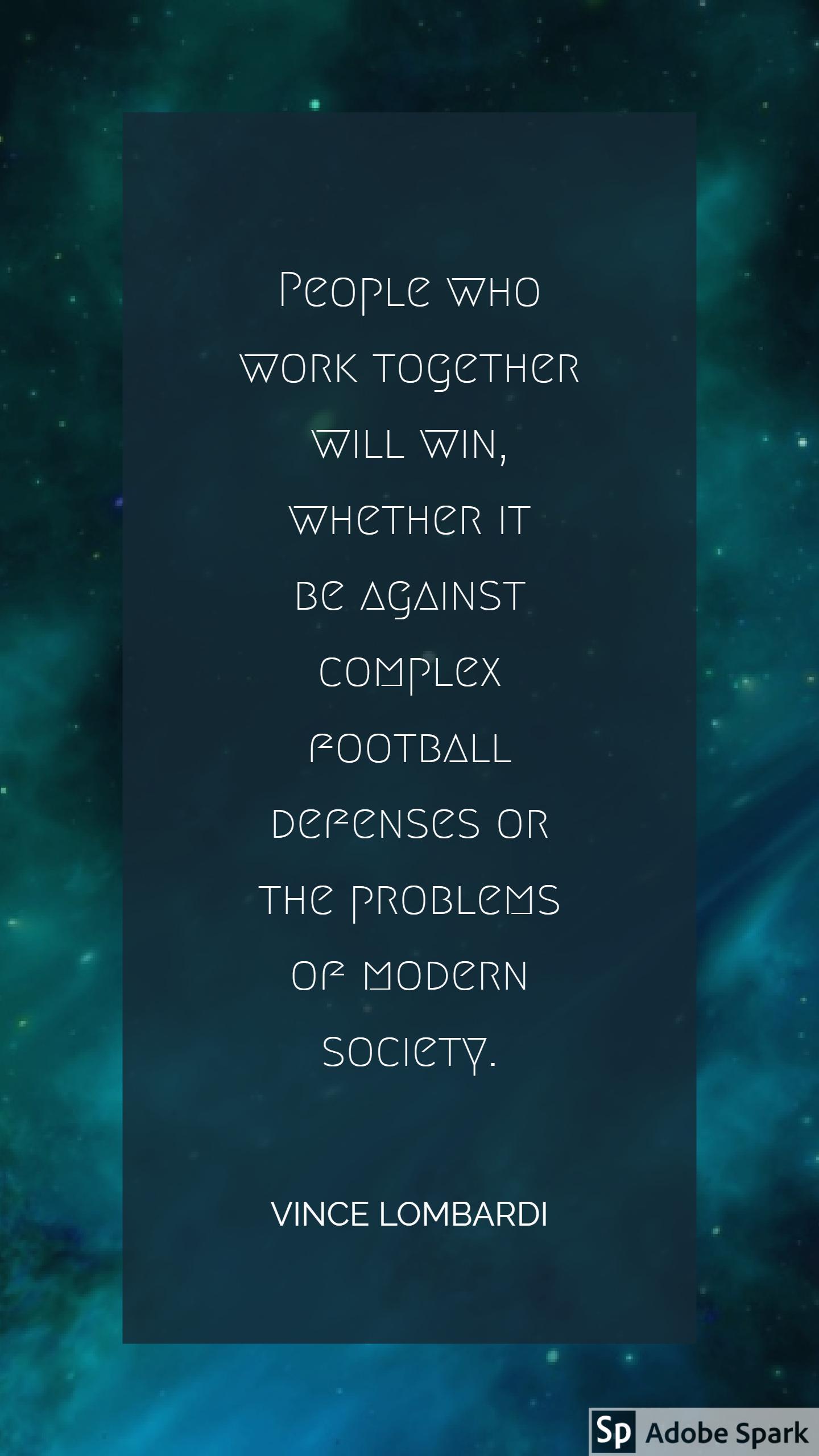 Lombardi - Work Together