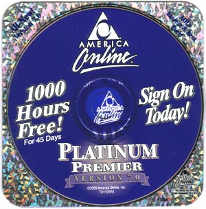 Remember the AOL discs that came in the mail almost daily?