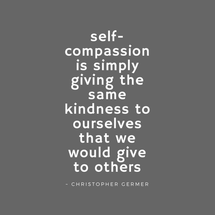 self-compassion is simply