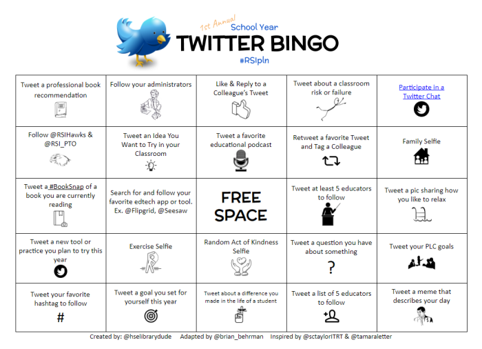 Twitter Bingo