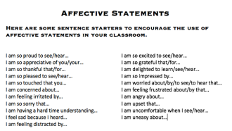 Affective Statements