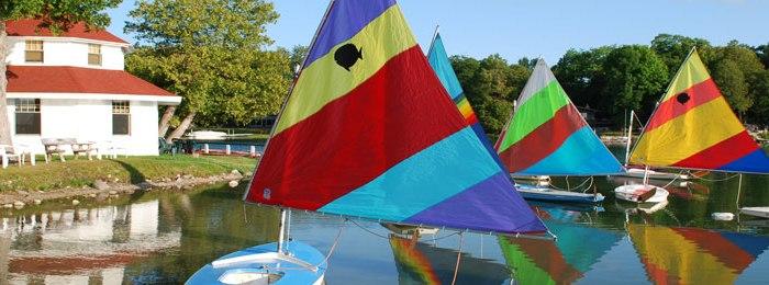 Gone sailing…