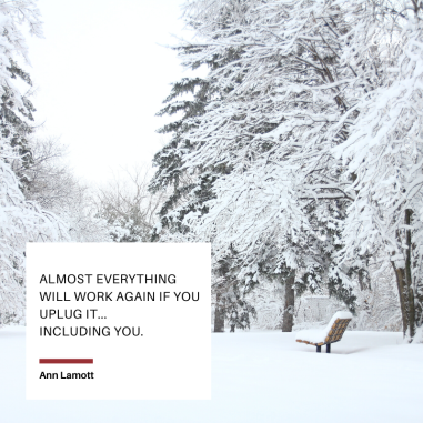 Almost everything will work again if you uplug it... Including you.